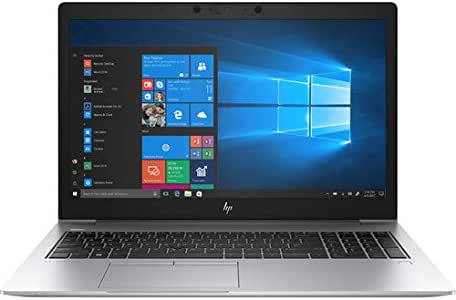 "HP Elitebook 850 G5 15.6"" Notebook - Windows - Intel Core i5 1.6 GHz - 16 GB RAM - 512 GB SSD, Silver"