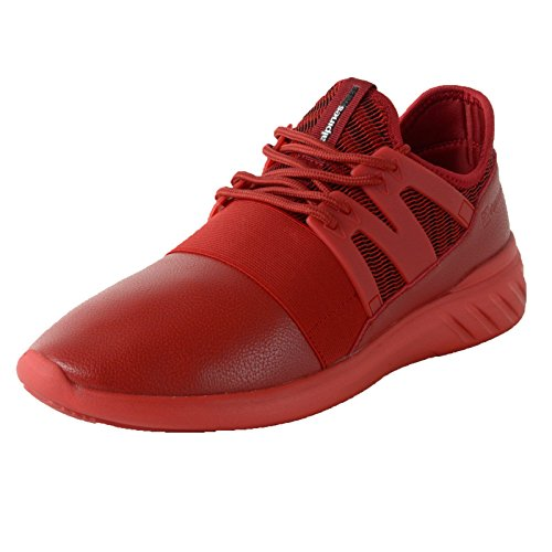 3c93cb9c03a74 Alpine Swiss Josef Men Tennis Shoes Low Top Sneakers Flex Strap Mesh Knit  Collar