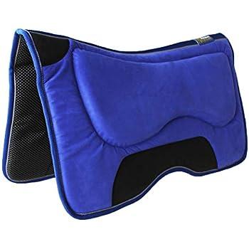 Challenger Western Horse Anti-Slip Fleece Padded Memory Foam Saddle Pad 39130.