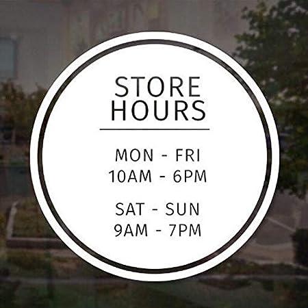 Ajcwhml Señal de Venta Tienda horario Comercial señal de ...
