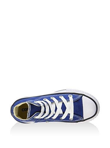 CONVERSE - Zapatillas deportivas color azul marino con cordones, en tela, Niño, Niños Azul