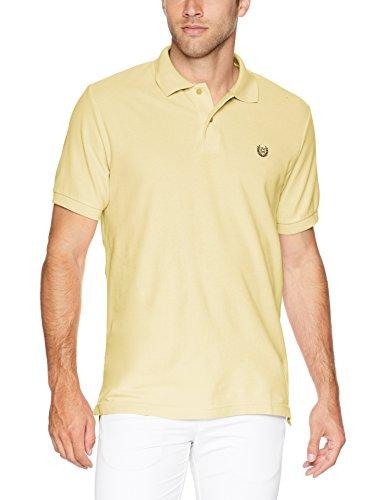 Chaps Mens Classic Fit Cotton Mesh Polo Shirt