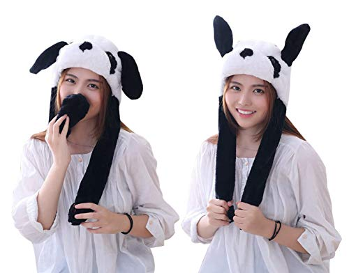Animal Hats With Ears - Panda Hat Ear Moving Easter Costume