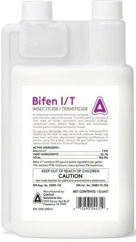 Amazon com : CSI Bifen Insecticide/Termiticide 1qt : Insect