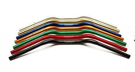 Manubrio moto a sezione variabile Alluminio ACCOSSATO Diametro 28mm HB173Y (Oro) AG s.a.s. ACCOSSATO