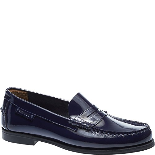 Patent Leather Patent Plaza Sebago Loafers Women's Ii Navy x6OWq07w