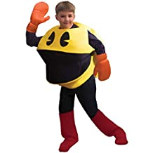 InCogneato 197671 Pac-Man Deluxe Child Costume - Yellow - One Size Fits Most Kids