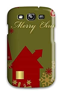 High-end Case Cover Protector For Galaxy S3(holiday Christmas)