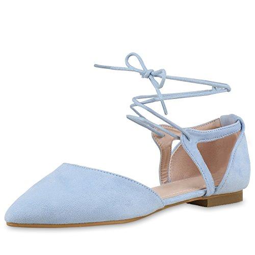 napoli-fashion - Bailarinas Mujer Hellblau Hellblau