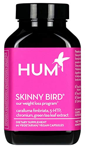 HUM Skinny Bird - Weight Management Support with Green Tea Extract, 5-HTP, Chromium & Caralluma Fimbriata (90 Vegan Capsules) by HUM (Image #9)