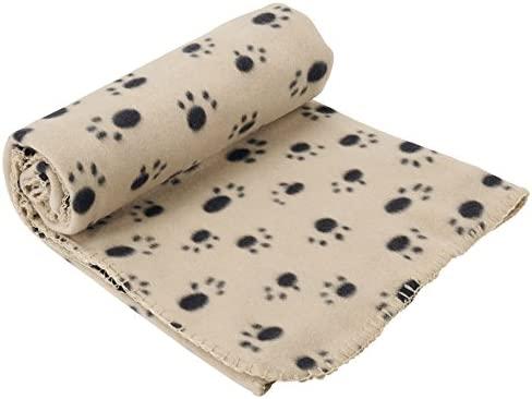 EXTRA LARGE SOFT COSY WARM FLEECE PET DOG CAT ANIMAL BLANKET THROWN FREE SHIPPIN