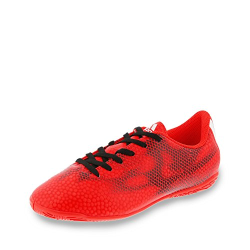 adidas Zapatilla Jr F5 IN Solar red-White-Black Rojo