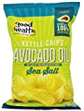 Good Health Natural Foods - Avocado Oil Kettle Chips Sea Salt - 5 oz.pack of 2