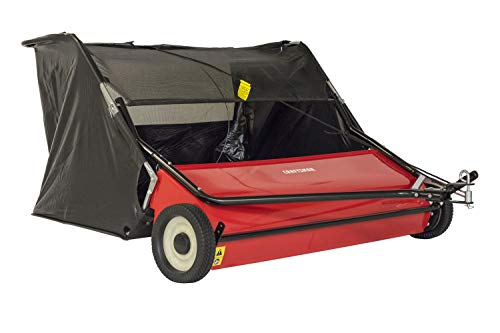 Craftsman CMXGZBF7124546 52 Tow Lawn Sweeper, Black (Tow Sweeper Lawn Behind)