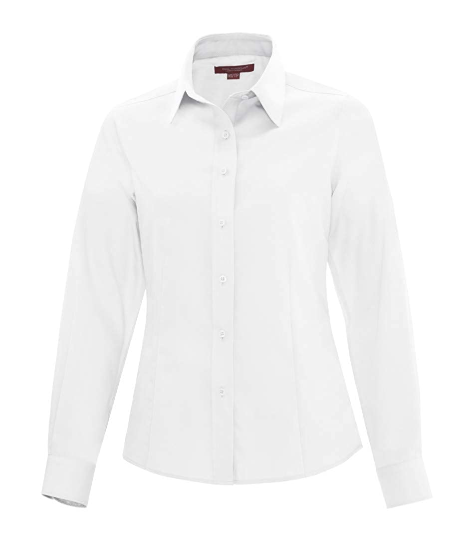White Coal Harbour Women's NonIron Twill Shirt