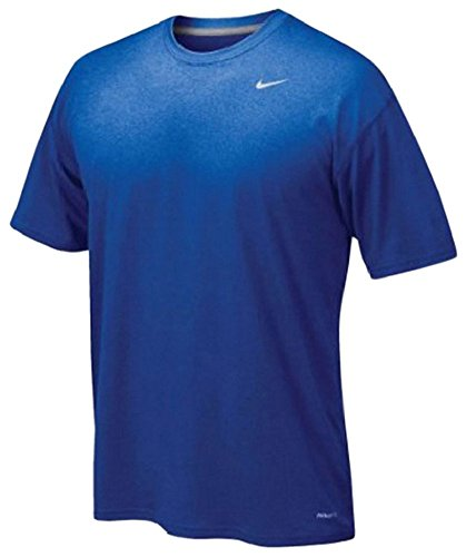 Nike Men's Legend Short Sleeve Tee, Royal, XL - Athletic Jersey Workout Shirt