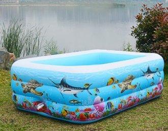 Kinder aufblasbare Schwimmbecken/Familie große Swimmingpool für Erwachsene/Kind Verdickung Meer Planschbecken/Baby Ocean Ball-Pool-A