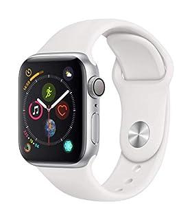 AppleWatch Series4 (GPS,40mm) - Silver Aluminium Case with White Sport Band (B07K37CV3C) | Amazon price tracker / tracking, Amazon price history charts, Amazon price watches, Amazon price drop alerts