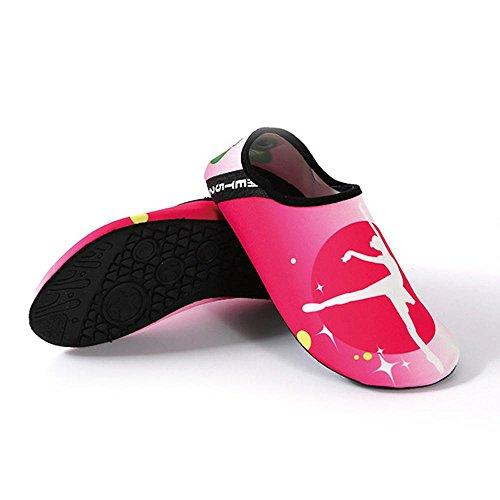 para vela Xl Ballet L de Man mujer Running Girl Zapatillas Aolvo wB7qtt
