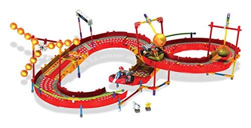 Knex Racers (K'NEX Nintendo Mario Kart Wii Mario and Diddy Kong Fire Challenge Building Set)