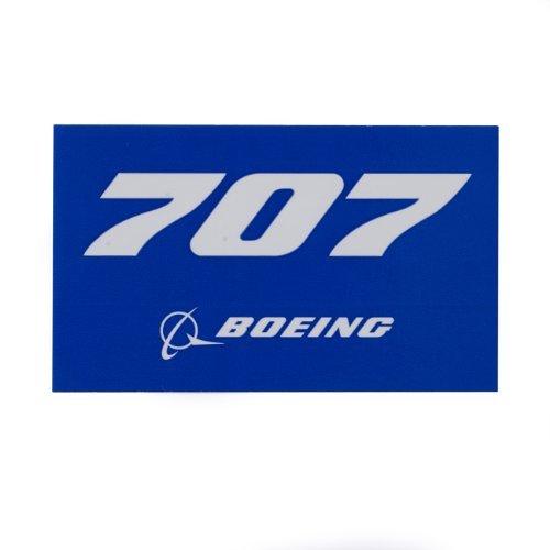 Boeing Aircraft 707 - 707 Blue Sticker