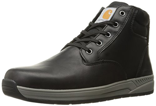 Carhartt Mens CMX4011 4 LTWT PT Black Caswedge Work Boot Black