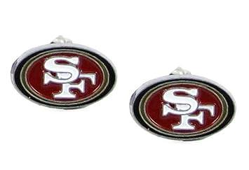 reputable site dc6fd dc3f3 San Francisco 49ers Stud Earrings - NFL Football Fan Shop Sports Team  Merchandise