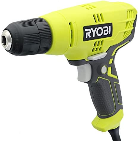 Ryobi D43K 5.5 Amp 3 8 Inch 1,600 RPM Variable Speed Trigger Corded Power Drill