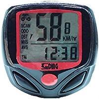 Xiton LCD Vélo Ordinateur de vélo Compteur de Vitesse Odomètre