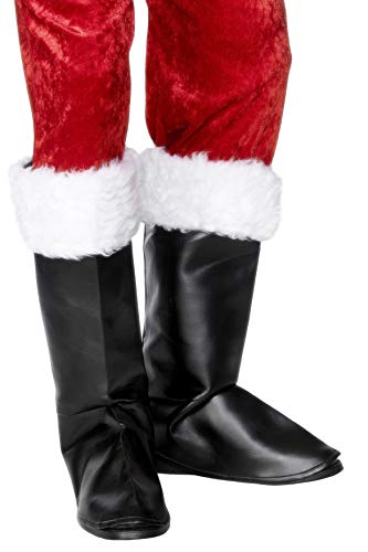 Santa Boot Covers Costume Accessory