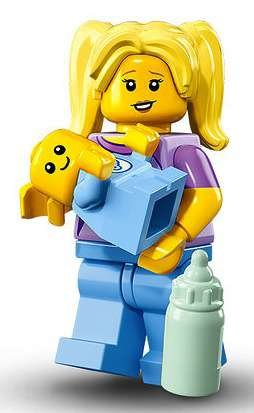 LEGO Series 16 Collectible Minifigures - Babysitter with Baby (71013)