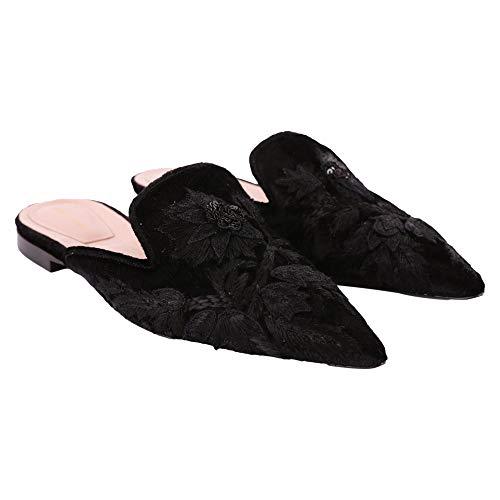 Alberta Sandalias A66078205555 Mujer Cuero Ferretti Negro 1wqr417