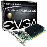 EVGA GeForce 8400 GS Passive 1024 MB DDR3 PCI Express 2.0 Graphics Card DVI/HDMI/VGA, 01G-P3-1303-KR