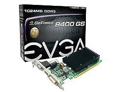Evga Geforce 8400 Gs Passive 1024 Mb Ddr3 Pci Express 2.0 Graphics Card Dvihdmivga, 01g-p3-1303-kr