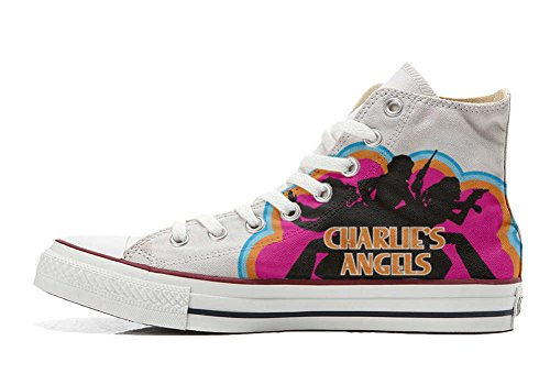 Schuhe Custom Converse All Star, personalisierte Schuhe (Handwerk Produkt customized) Charlies Angels