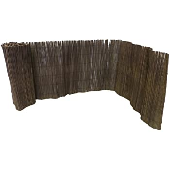 Captivating Master Garden Products Rolled Willow Border Fence, 2 By 14 Feet