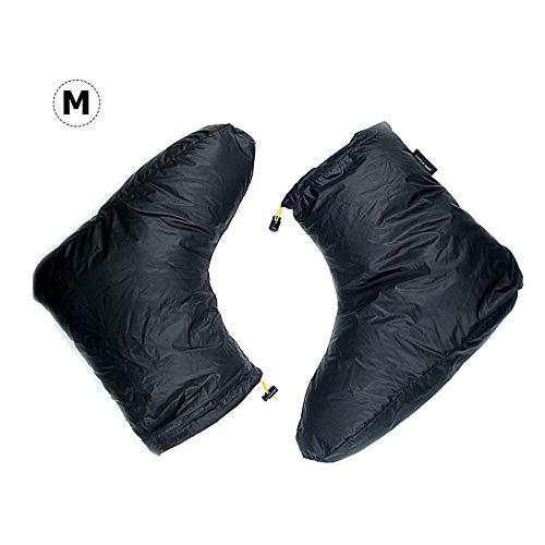 Weiße Gänsedaunen-Hausschuhe Schuhe Ankle Socken Stiefel Schuhe Camping Schlafsack Zubehör