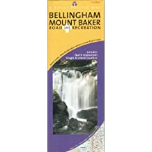 Bellingham/ Mount Baker, Washington Road & Recreation Map, 5th Edition (Great Pacific Recreation & Travel Maps)
