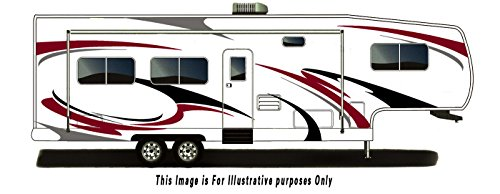 Decal Kit Graphics (RV, Trailer Hauler, Camper, Motor-home Large Decals/Graphics Kits 28-k-3)