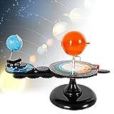TUQI Solar System Sun Earth Moon Orbital Planetarium Model Kids Science DIY Kids' Gift