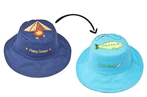 - FlapJackKids - Kids' Sun Hat - Tent/Bass Medium (2-4 yrs)
