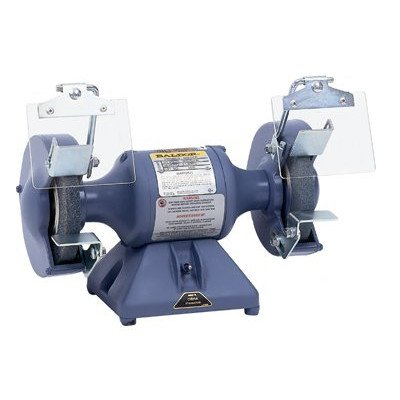Baldor Electric 612 6'' Industrial Grinder, 36 and 60 Grit Wheels, 1/3 hp, Single Phase, 3,600 rpm by Baldor Electric