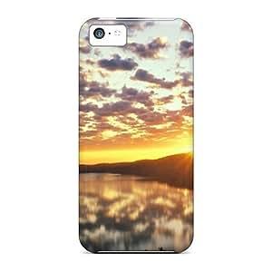 CJz3604SiTp Anti-scratch Case Cover BretPrice Protective Sunset Nature Sun Case For Iphone 5c by icecream design