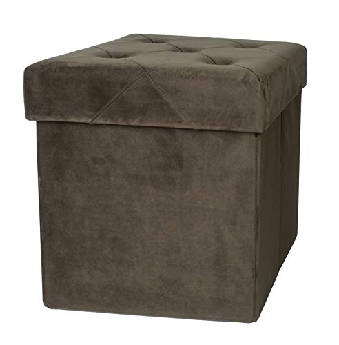 Square Fabric Upholstered Seat - 1
