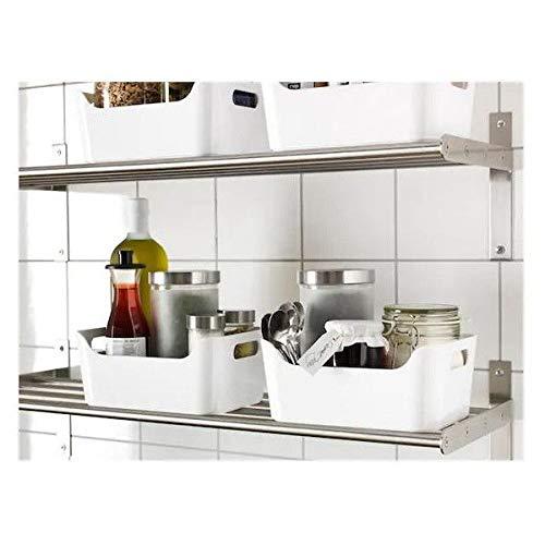 Box de alto brillo blanco IKEA VARIERA 24x17 cm