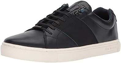 Ted Baker Men's Quana Sneaker, Dark Blue, 8.5 D(M) US
