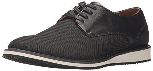 Madden Men's M-Fadd Fashion Sneaker, Black Fabric, 10 M US Dress Sneaker