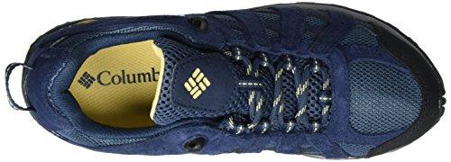 Columbia Redmond Waterproof - Zapatos de Low Rise Senderismo Mujer Azul (Zinc, Cornstalk 492)