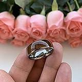 BestTungsten 8mm Tungsten Carbide Rings for Men