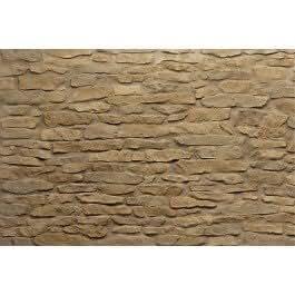 Panel de pared «acantilado ocre» (NOMASTONE - SANTIAGO